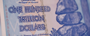 zim one trillion dollar note